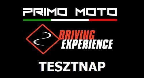 Primo Moto és Driving Experience Tesztnap